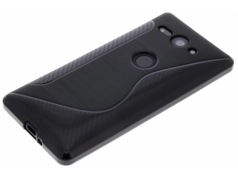 Sony Xperia XZ2 Compact hoesje - Zwart S-line TPU hoesje