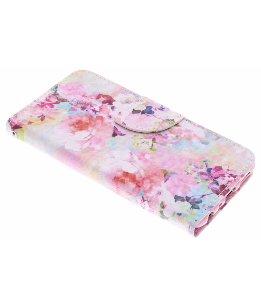 Design TPU booktype hoes Huawei P Smart