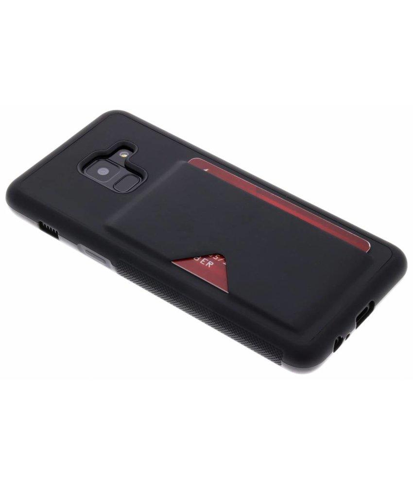 Dux Ducis Zwart Cardslot Hardcase Samsung Galaxy A8 (2018)