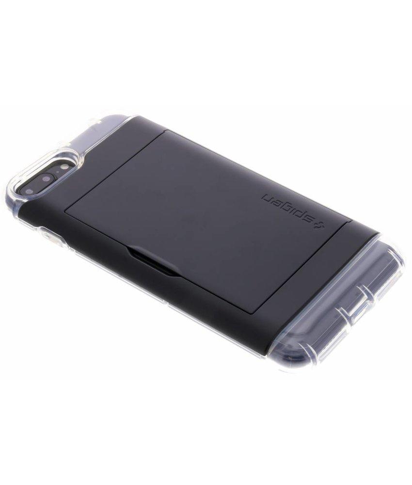 Spigen Zwart Crystal Wallet™ iPhone 8 Plus / 7 Plus