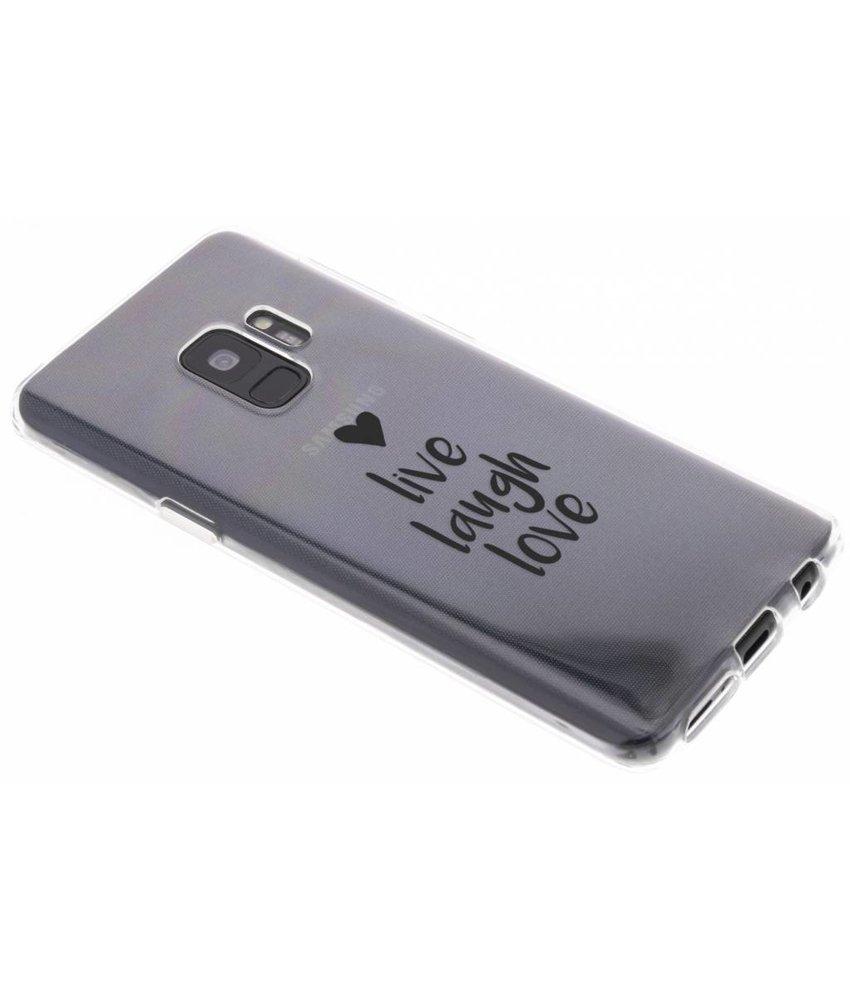 Citation Conception Cas De Tpu Pour Samsung Galaxy S9 uLCeCAF