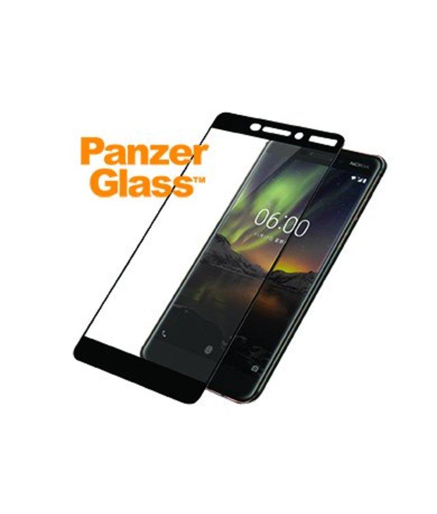 PanzerGlass Zwart Premium Screenprotector Nokia 6 (2018)
