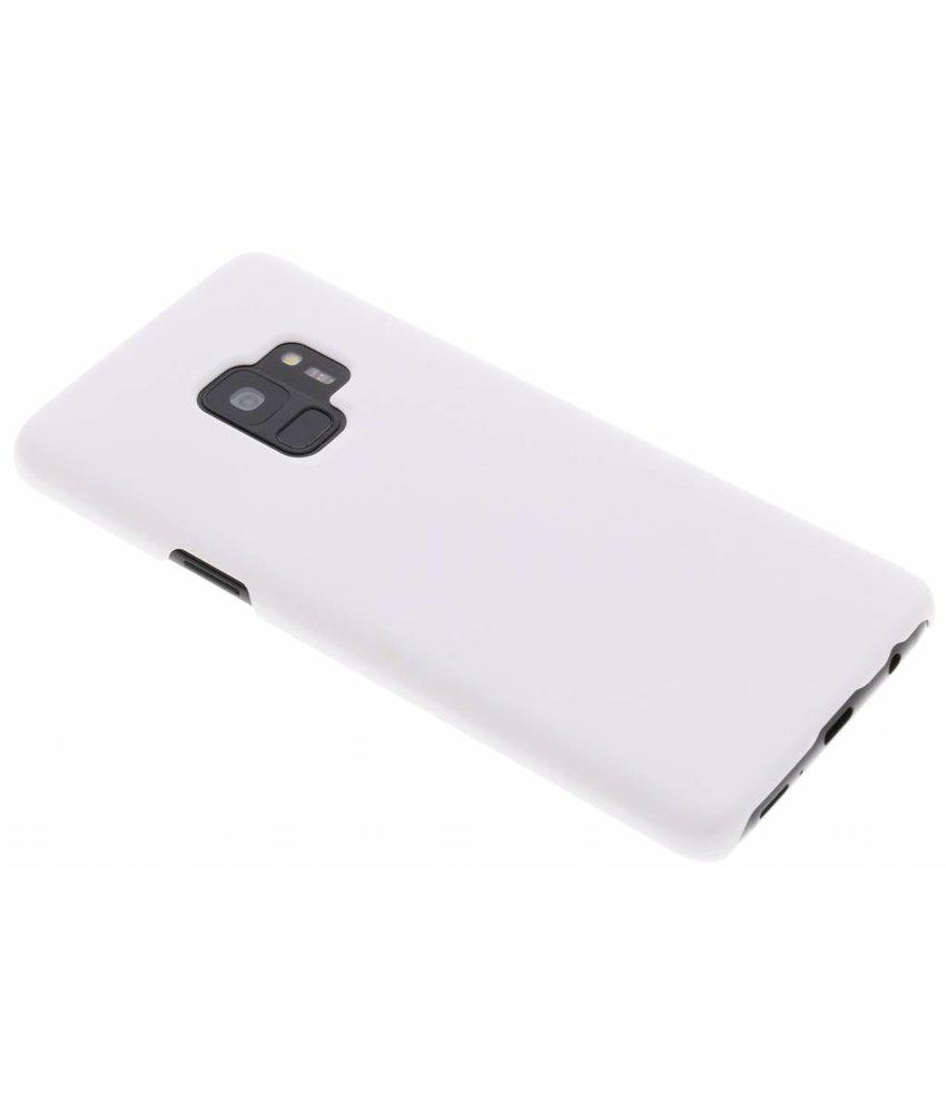 Simple Couverture Étui Rigide Blanc Pour Samsung Galaxy J6 a8B1R