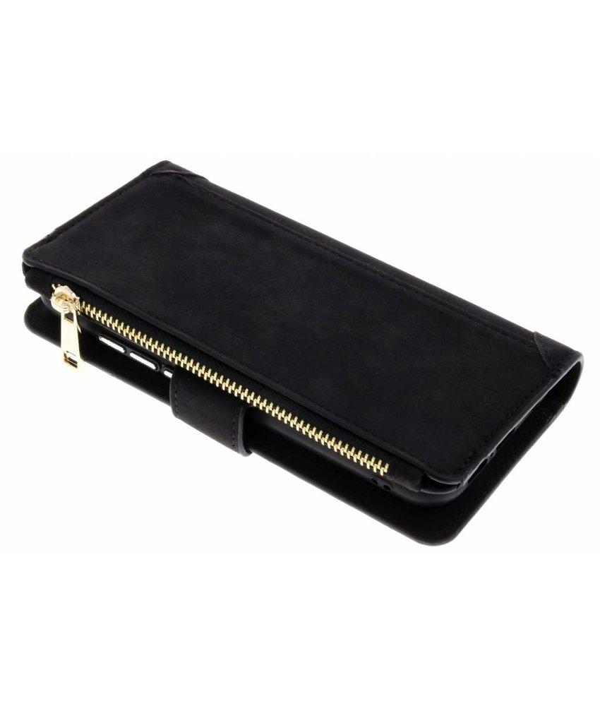Zwart Luxe portemonnee hoes Huawei P20 Lite