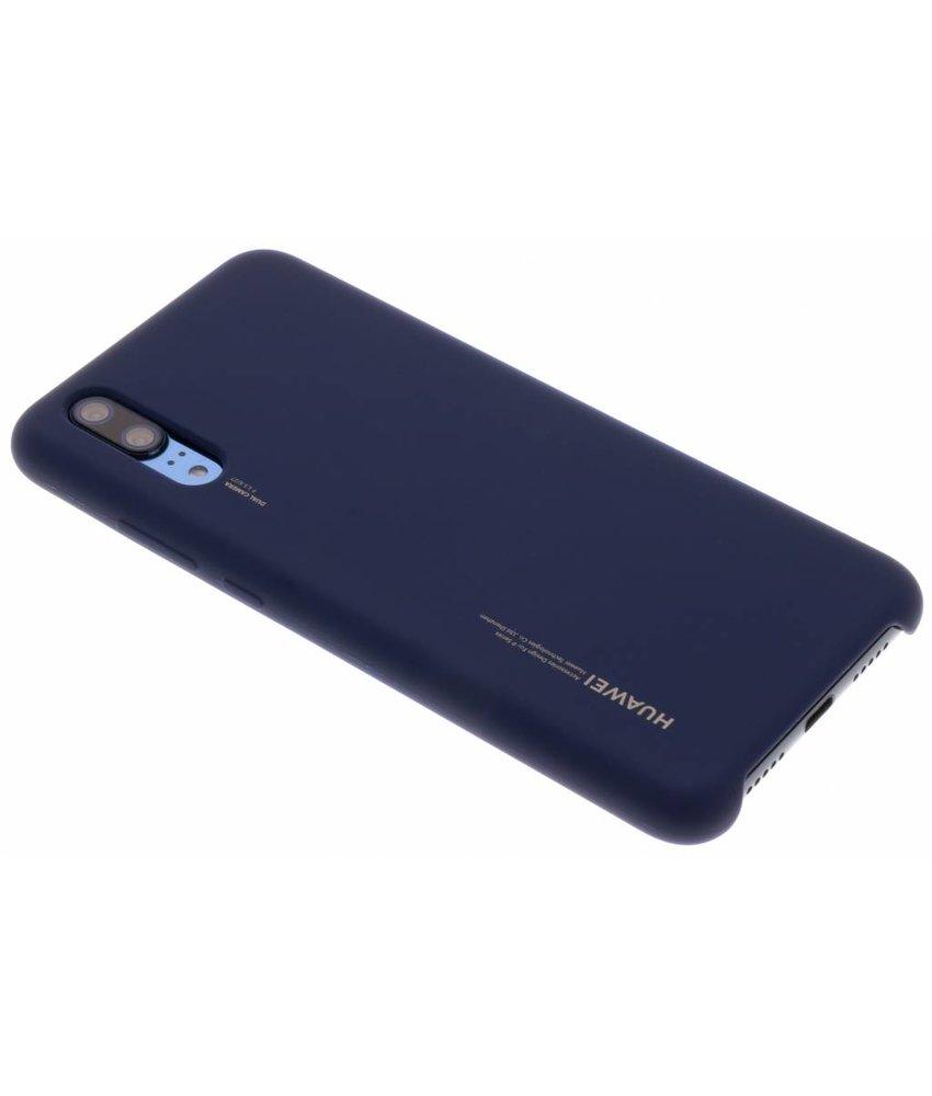 Huawei Blauw Silicon Case P20