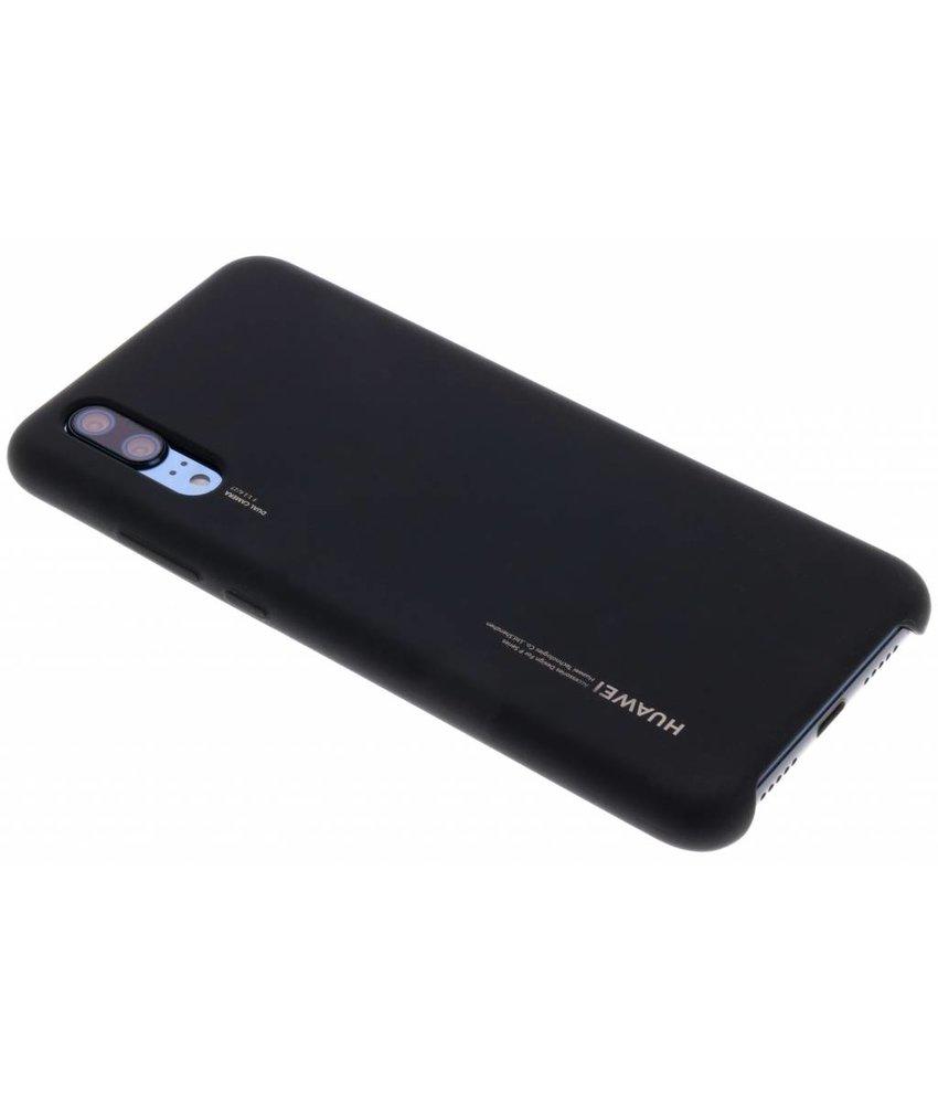 Huawei Zwart Silicon Case P20