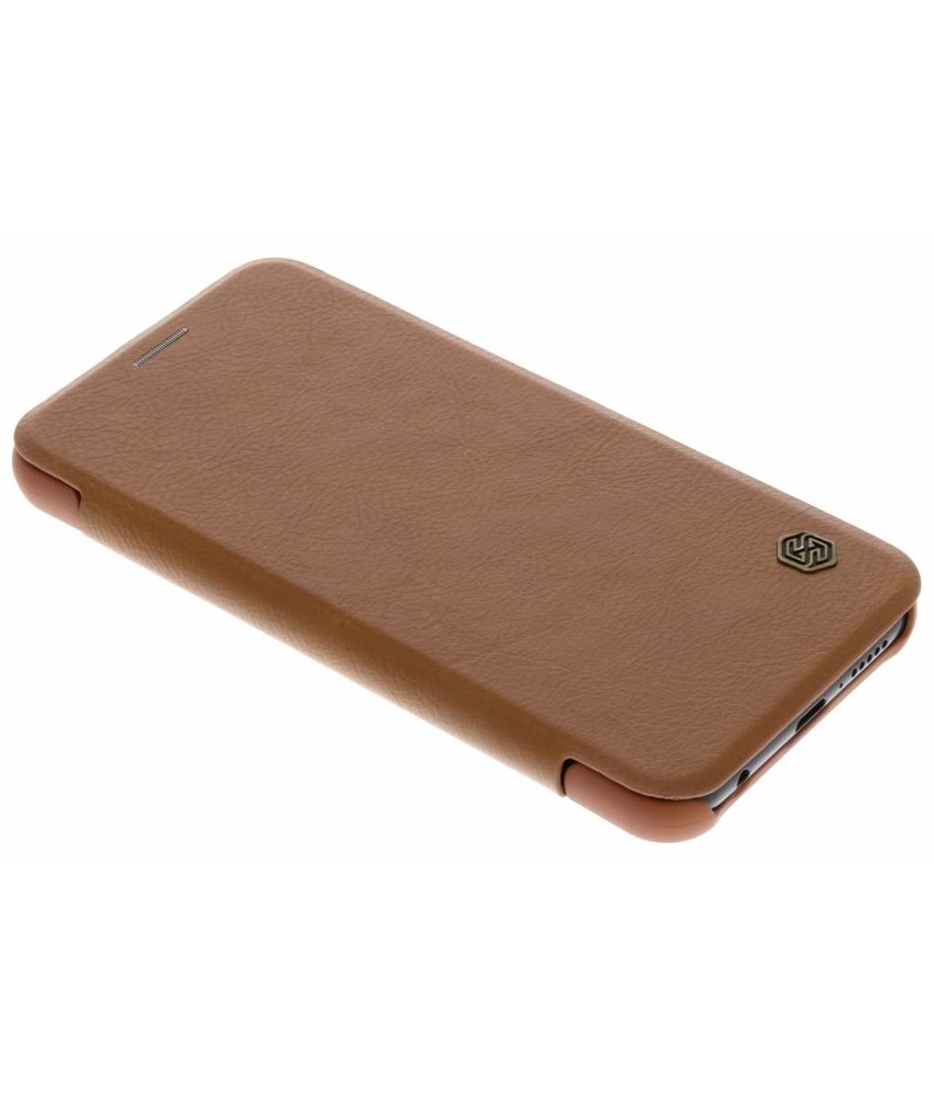 Nillkin Bruin Qin Leather slim booktype Huawei P20 Lite