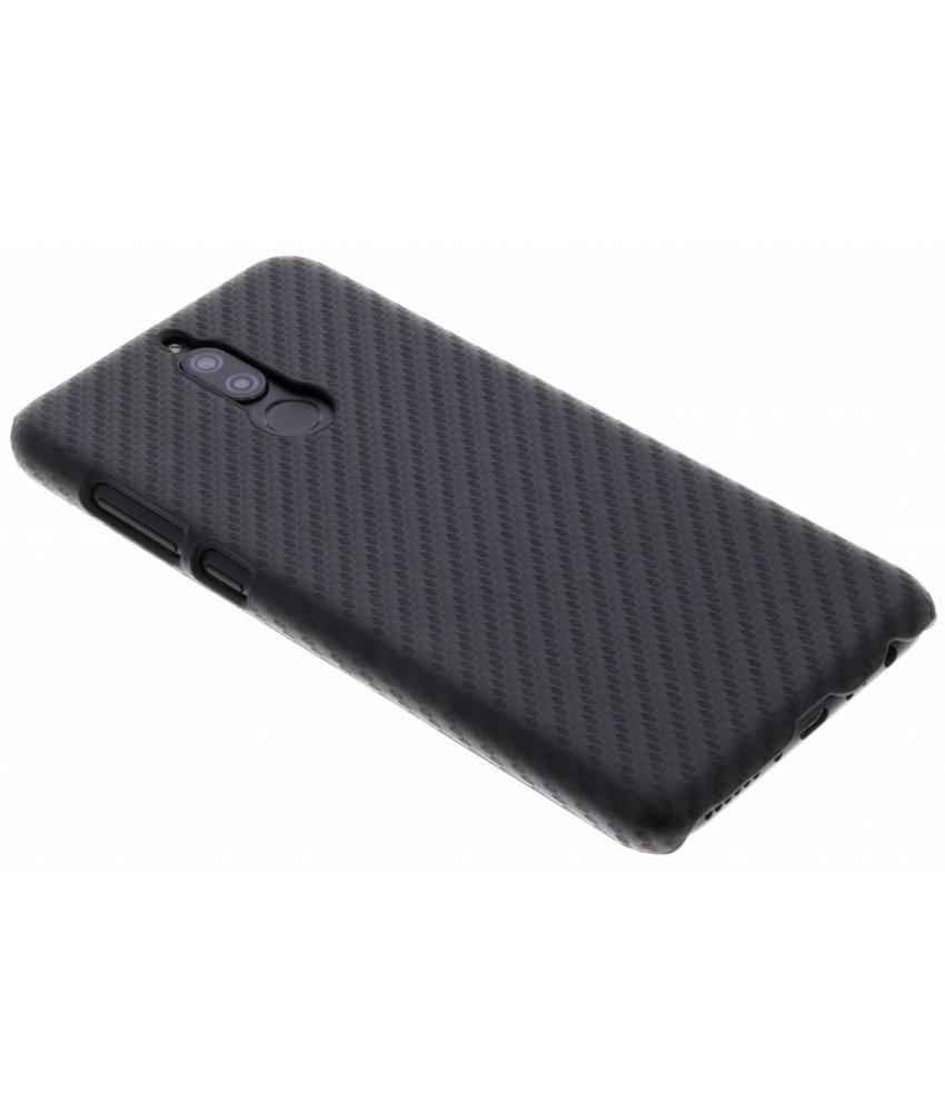 Zwart Carbon look hardcase hoesje Huawei Mate 10 Lite