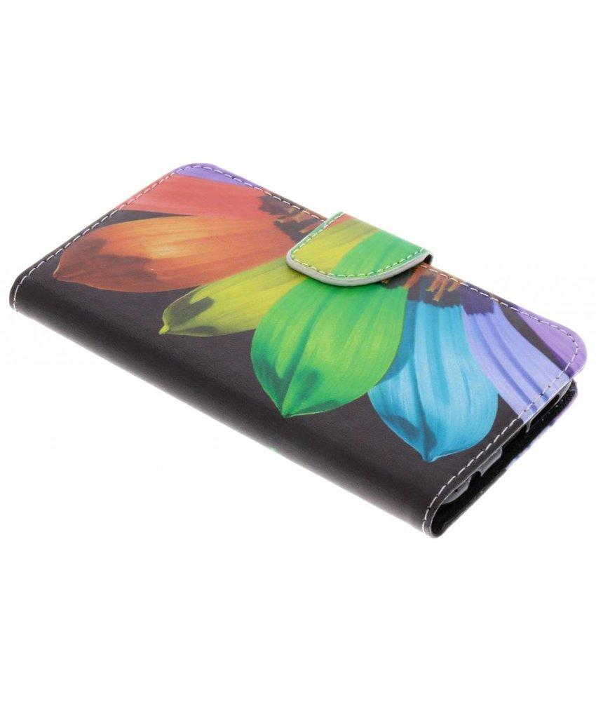 Design TPU booktype hoes Huawei P20 Lite