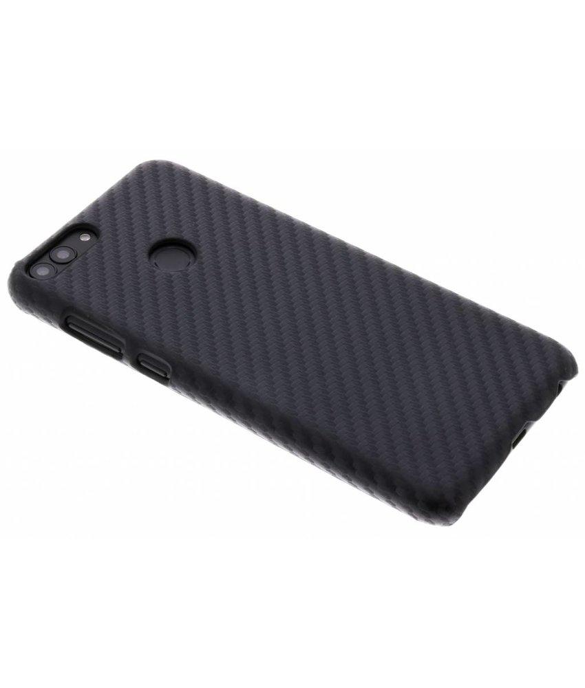 Zwart Carbon look hardcase hoesje Huawei P Smart