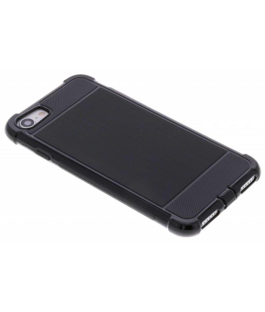 Zwart Xtreme siliconen hoesje iPhone 8 / 7