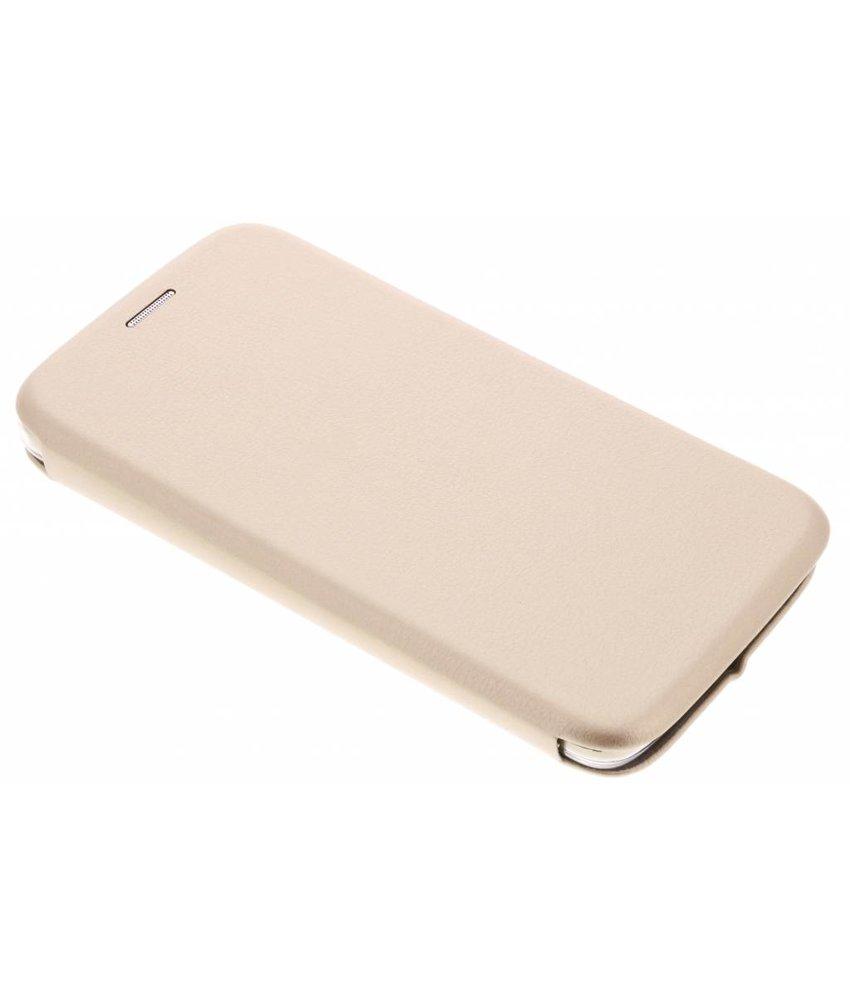 Goud slim Foliocase Motorola Moto G5