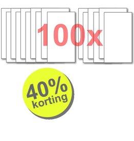 WTW 100 paar filters voor StorkAir WHR 90/91 <wk41-'01