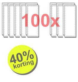WTW 100 paar filters voor Renovent Excellent 300/400