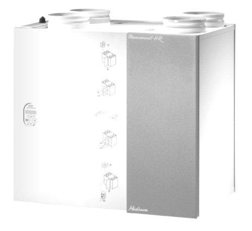 WTW 4 paar filters voor Renovent 250/325 M/L