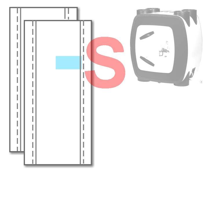 WTW WTW-filters HRU-3/ECO BAL voor Itho Daalderop | 1 paar [ZOOM]