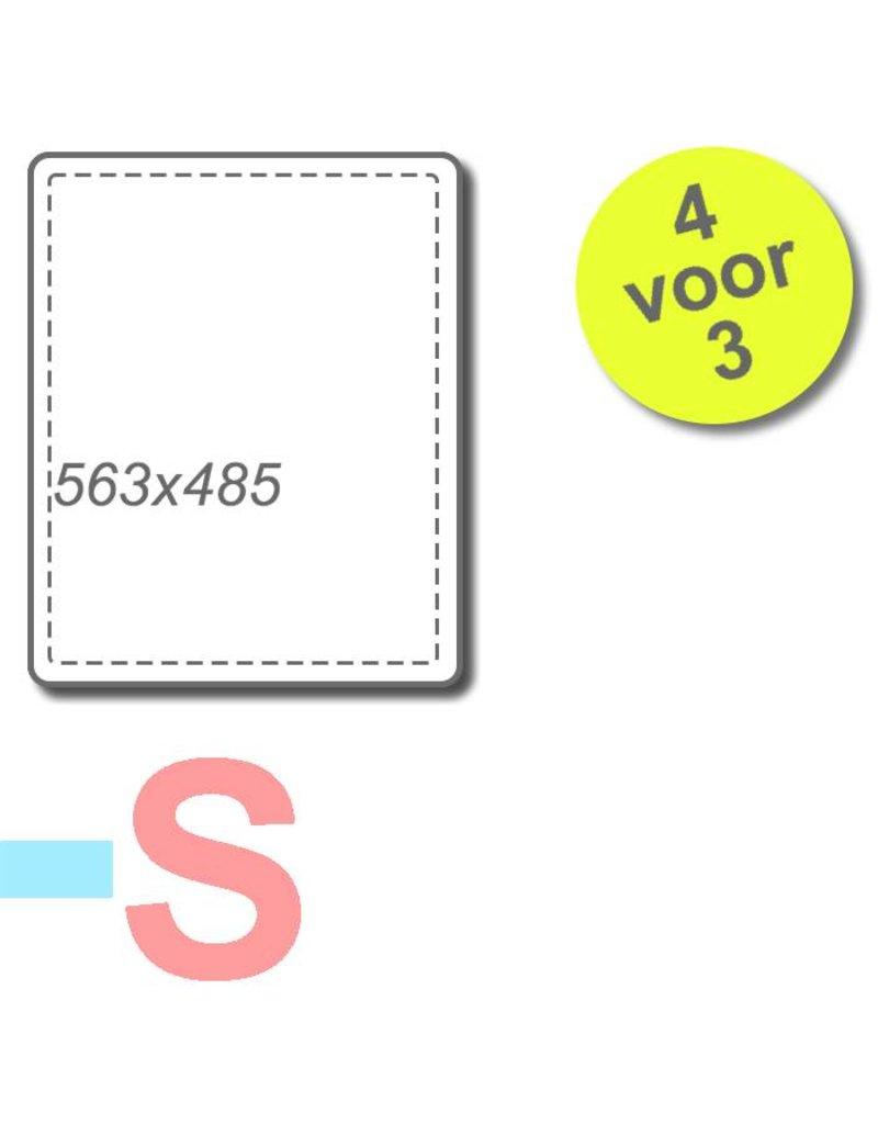 4 filters voor Brink Elan 16/25 2.0