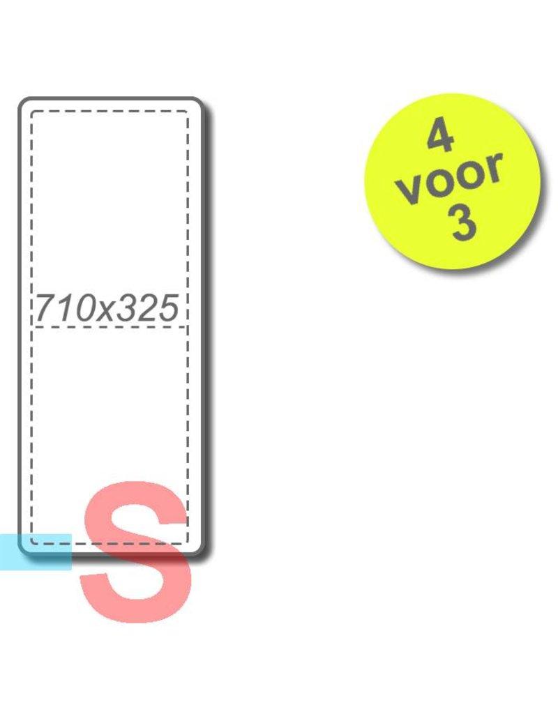 4 filters voor Brink Allure B-16 HR / B16 1350