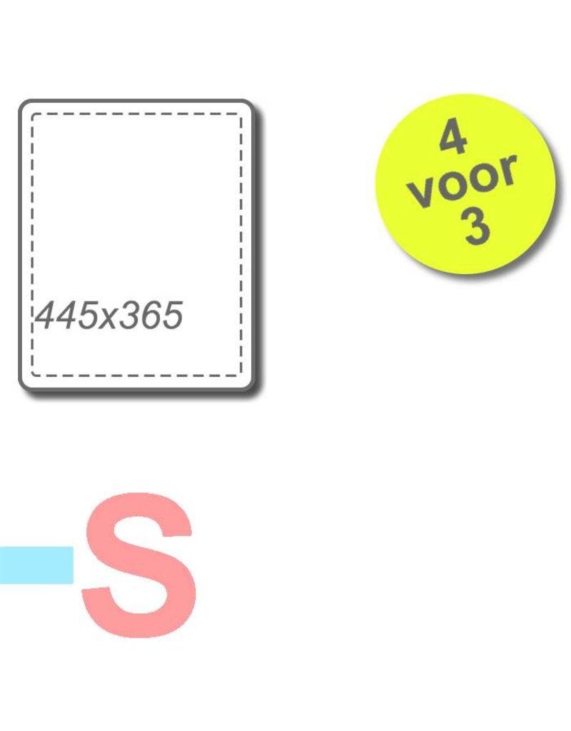 4 filters voor Brink Allure B-10 HRD / B-16 HRD / B16 HRD 1350