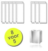 WTW 8 paar filters voor Brink Renovent Excellent 300/400