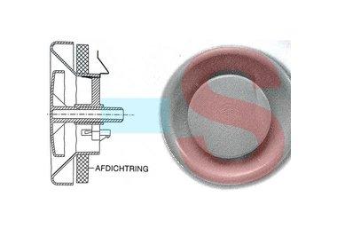 Hoe vervang ik de afdichtringen van mijn STK 100 125 ventilatie ventielen?