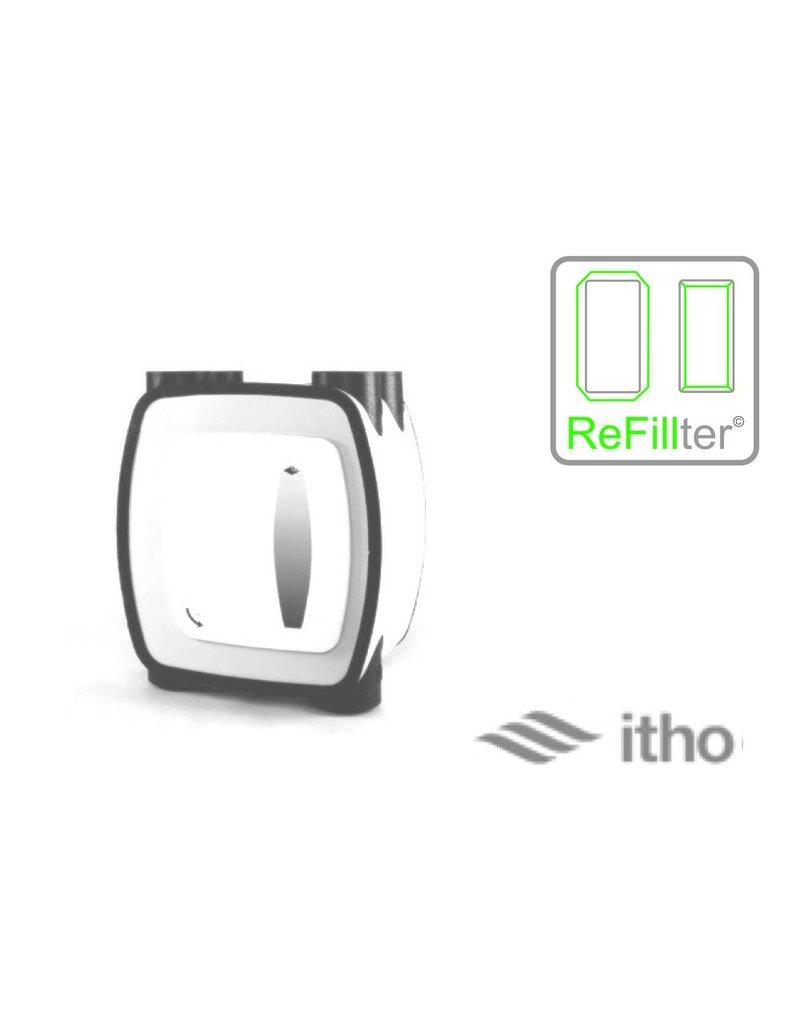 ReFillter© voor Itho HRU-1 // 1 filterset