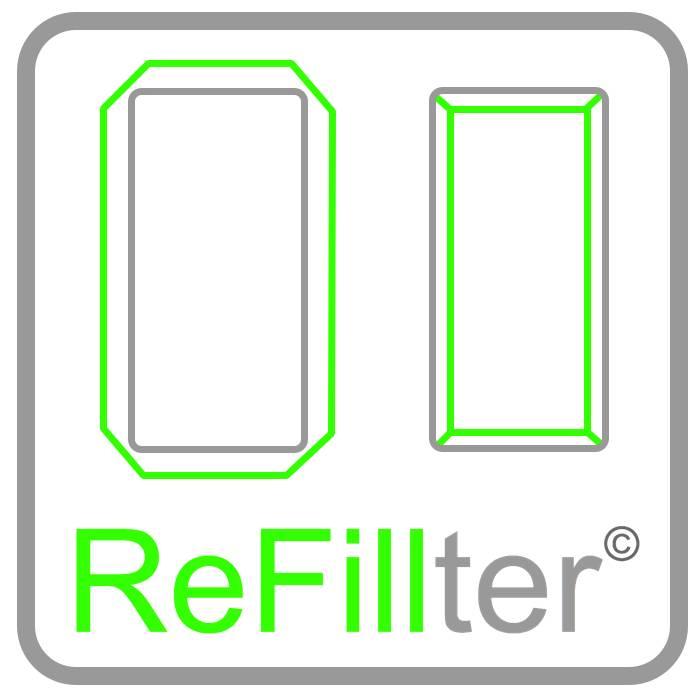 ReFillter© voor Itho HRU-1 // 4 filtersets