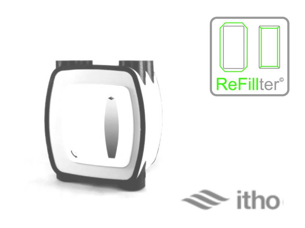 ReFillter© voor Itho HRU-1 // 8 filtersets