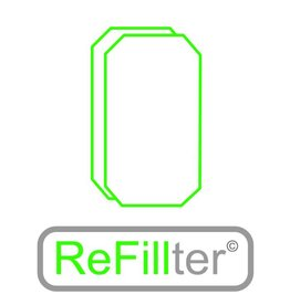 ReFillter© 1 set HRU-2/3 filters
