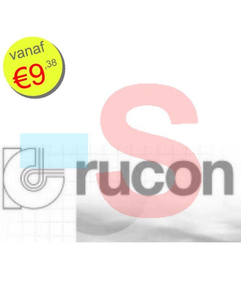 WTW 4 paar filters voor Rucon WTA HR-300/400