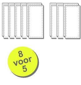 WTW 8 paar filters voor Velu VHR-275/300/400