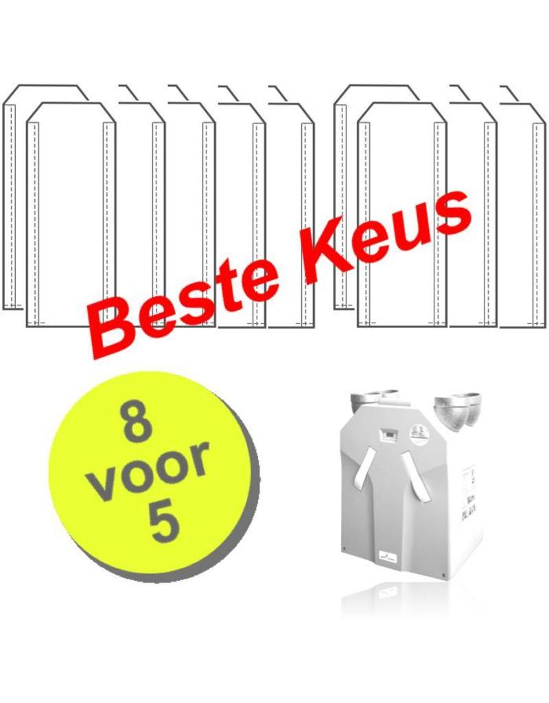 8 paar WHR 930 filters voor Zehnder JE StorkAir