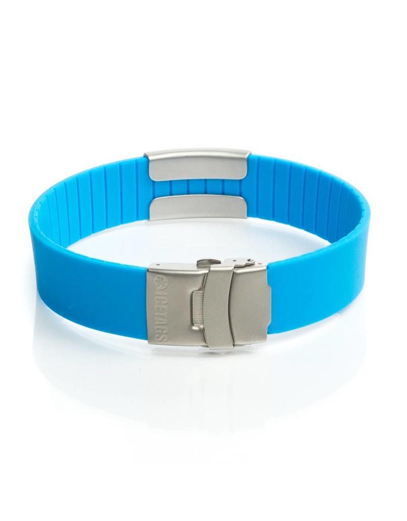 Sport ID bracelet Light Blue
