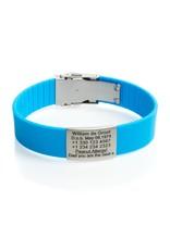 SOS armband Licht Blauw