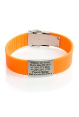 Run ID bracelet Orange