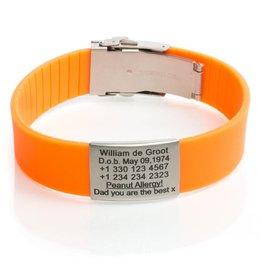 ID bracelet Orange
