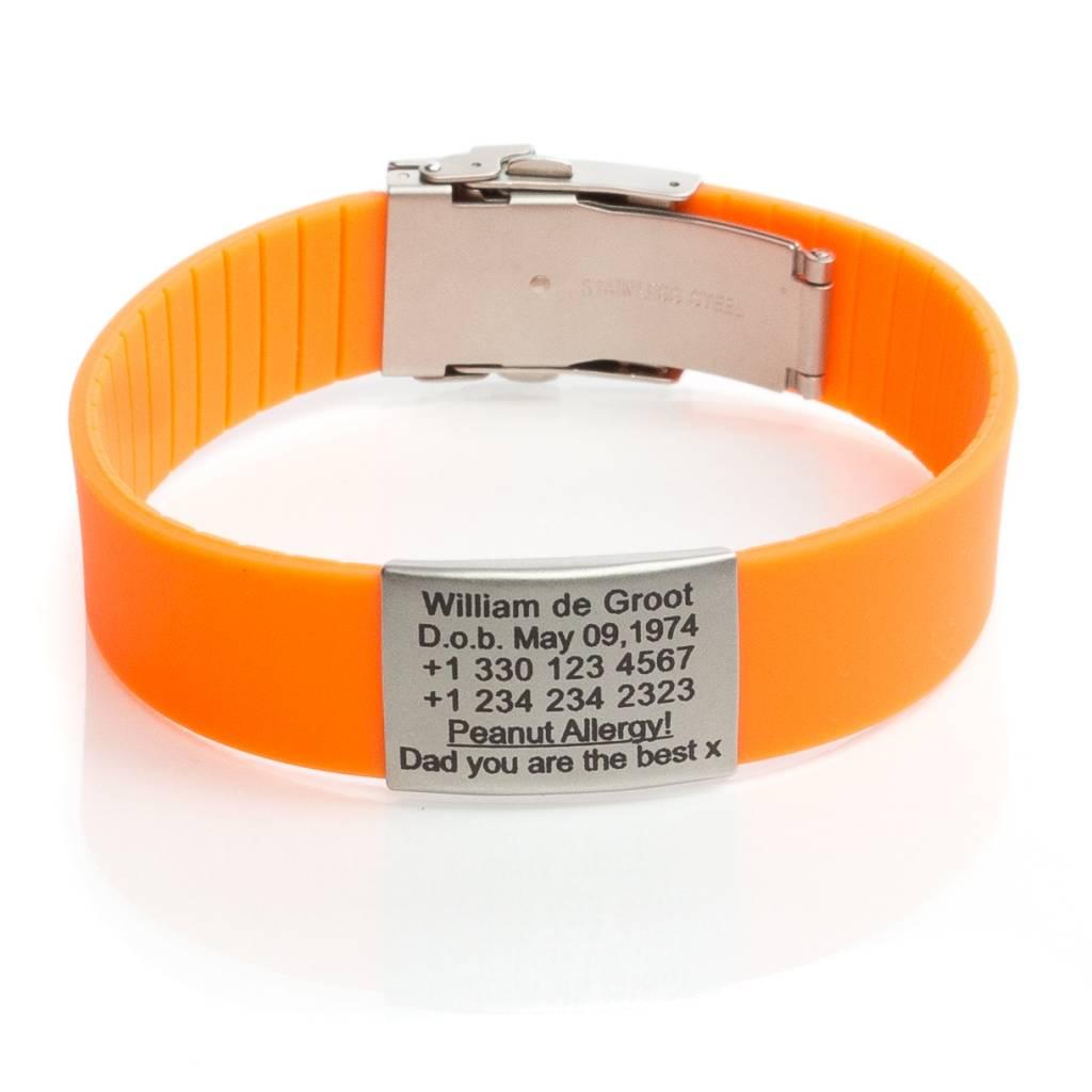 Populair Icetags; SOS armbanden die levens kunnen redden. Binnen 1 dag  #LJ03