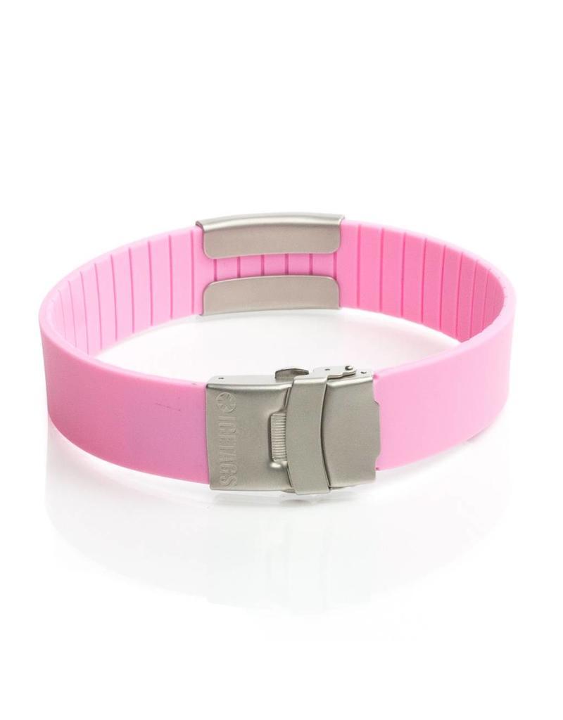 ID bracelet women Pink