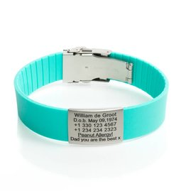SOS armband Turquoise