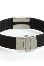 Sport ID engraved bracelet black