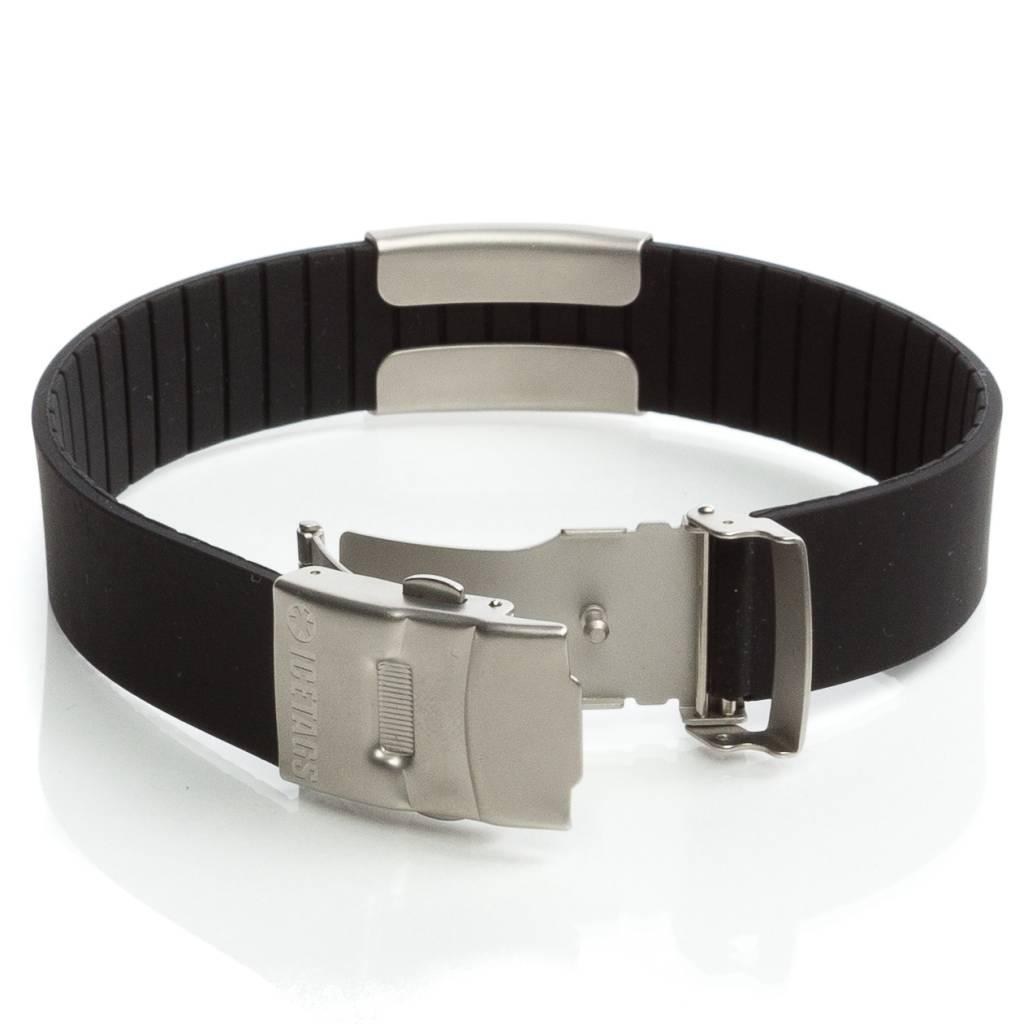 ID armband zwart