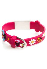Emergency bracelet kids Pink