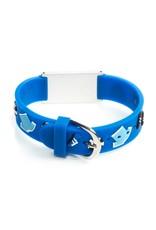 Medical ID for kids bracelet soccer