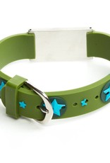 Medische sos armband kind groen