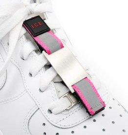 Shoe IDTag Roze