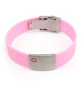 Medische armbanden roze