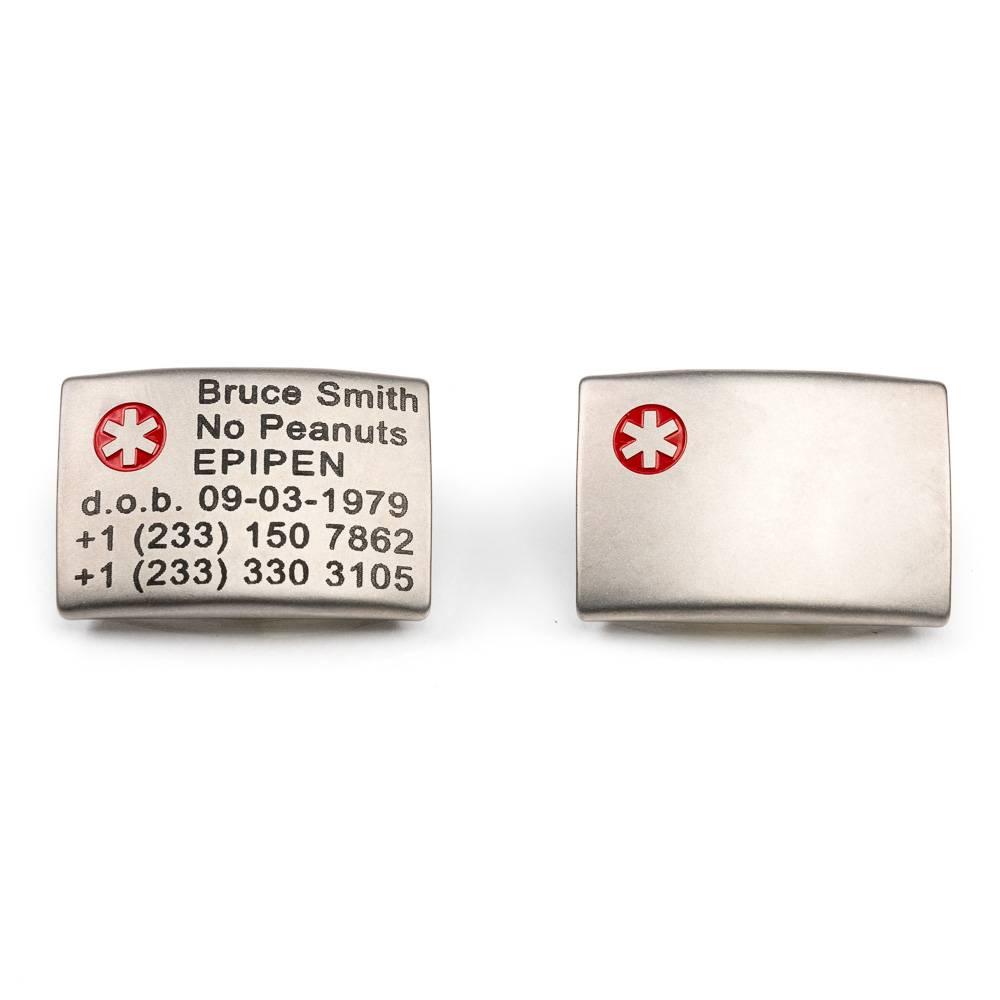 Medical ID wristband White