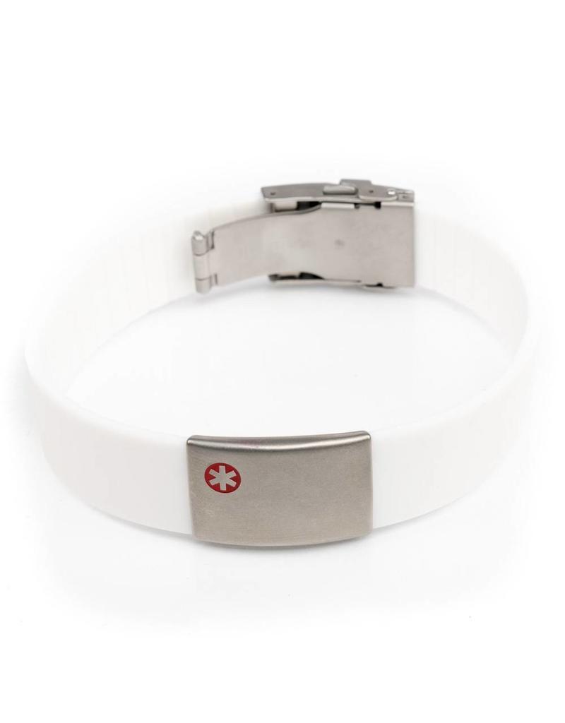 Medische armbanden Wit