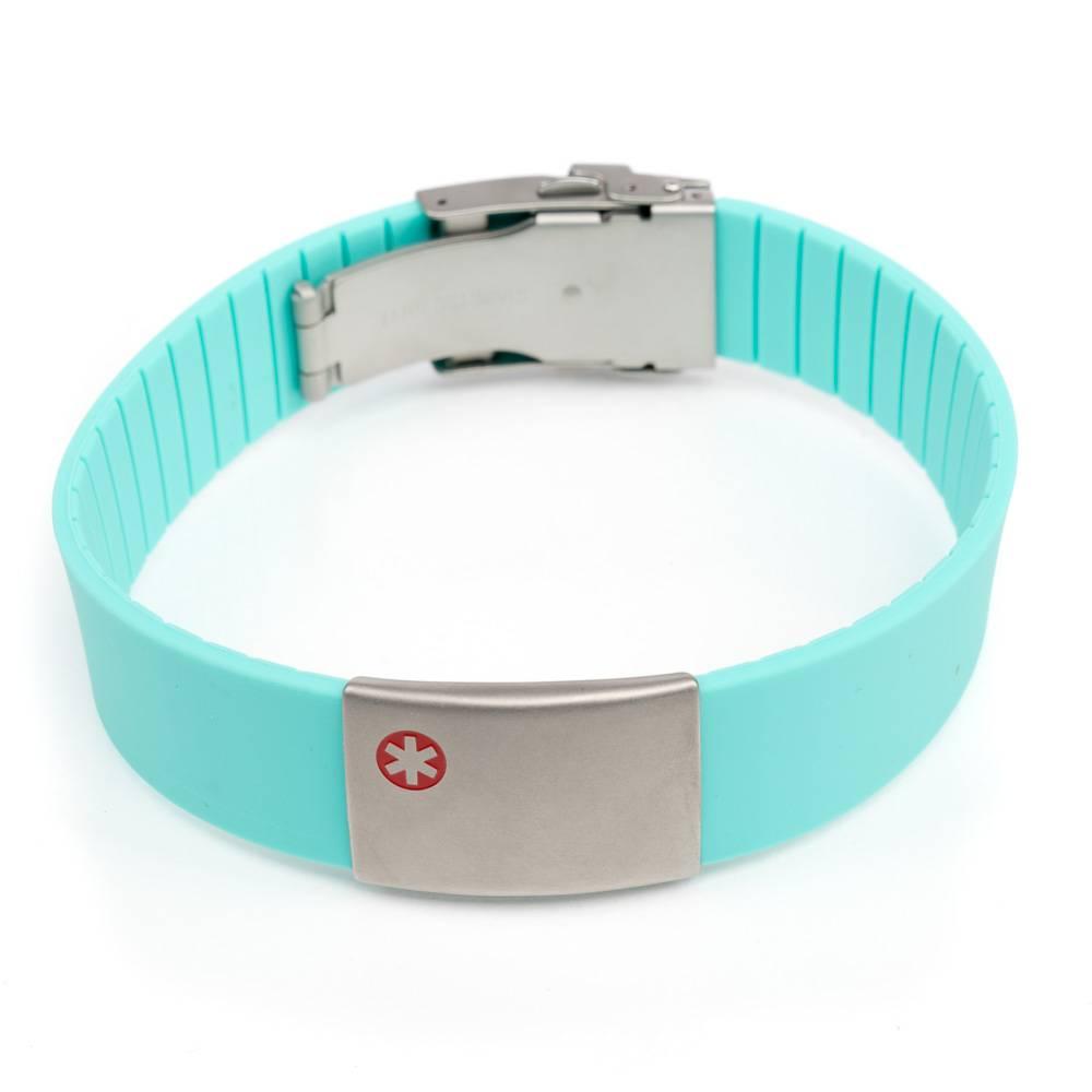 Allergie armband / medische armband Turquoise