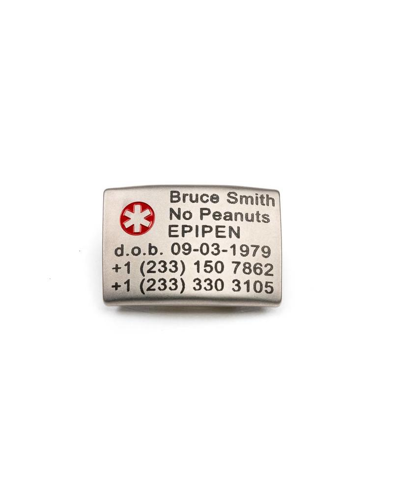Medical ICE ID tag